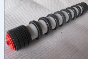 Conveyor Comb Idler Roller with Rubber Disc pictures & photos