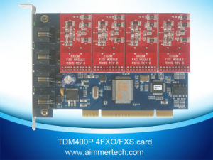 Tdm400p 4FXO Asterisk Card Support Asterisk /Trixbox/Elastix