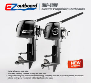 Ce 3HP/6HP/10HP/20HP/30HP /50HP Electric Propulsion Outboard Motor for Boat pictures & photos