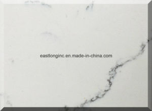 Popular Artificial Marble Quartz Stone Countertop for Kitchen pictures & photos