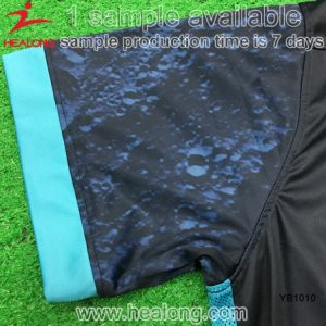 Healong Dry Fit Full Dye Sublimation Soccer Jersey pictures & photos