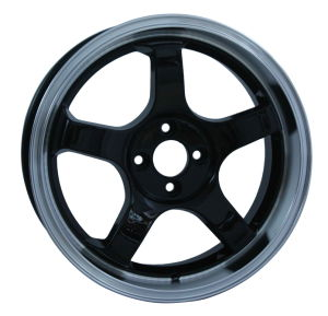 Alloy Wheel in Black Machine Lip Surface (UFO-J573) pictures & photos