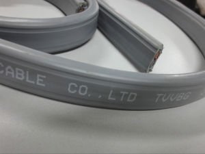Flexible Flat Elevator Cable with Video Cable pictures & photos