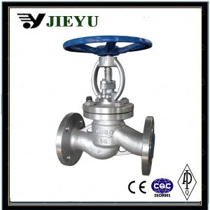 Pn16 Dn50 CF8/Ss304 Flange Globe Valve pictures & photos