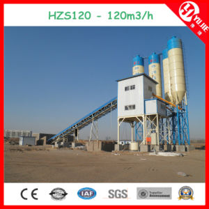 Computer Control Concrete Batching Plant for Sale Hzs120 pictures & photos