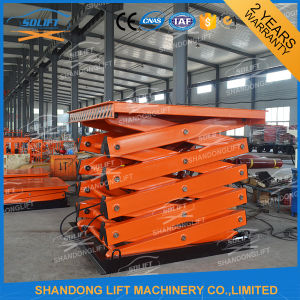 Ce Stationary Scissor Hydraulic Electric Lift for Sale pictures & photos