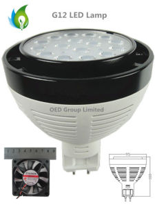 25W G12 LED PAR Light with Osram LED and Cooling Fun pictures & photos