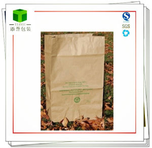 Biodegradable Kraft Garbage Paper Bag pictures & photos