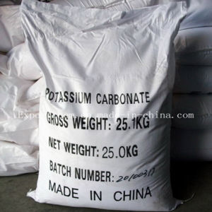 99% Food Grade/Industrial Grade Potassium Carbonate for Chemical Reagent pictures & photos