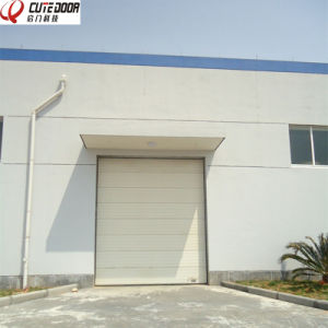 Automatic Sliding Sectional Overhead High Speed Door pictures & photos