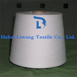 100% Polyester Spun Yarn 20s Virgin/ Close Virgin/ Recycled