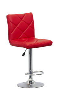 Modern Design Leather Bar Stool (T-808B)