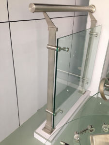 Safety Glass Guardrail for Mall pictures & photos
