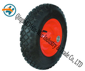 Wear-Resistant Rubber Wheel Used on Hand Track (4.80/4.00-8) pictures & photos