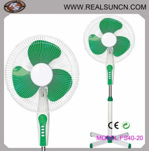 "Electric Fan 16"" Plastic Stand Fan with PP Blade- Fs40-20 pictures & photos"