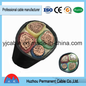 Yjv/Yjlv, Yjv22, Yjlv22, 4 Aluminum/Copper Core XLPE Insulated Electrical Power Cable, Multiplex Core, Railway pictures & photos
