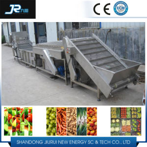 Peach Bubble and High Pressure Washing Wind Drying Machine pictures & photos