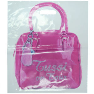 2015 Plastic Shopping Bag, Drawstring Bag with Customized Logo and Design (HF-101) pictures & photos
