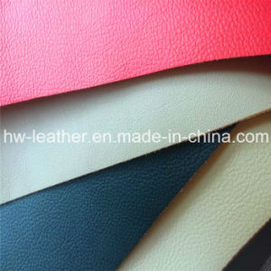 High Anti-Abraision Microfiber PU Leather Hw-794 pictures & photos