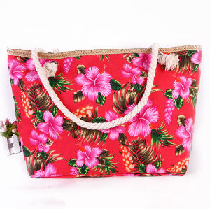 The New Bag Canvasbag National Wind Ladies Shoulder Bag Trend Ladies Beach Bag pictures & photos