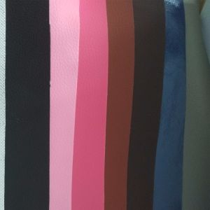 SGS Multicolor Embossed Leather Artificial Leather Certification PVC Leather pictures & photos
