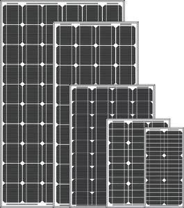 5W - 115W Solar Panel