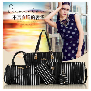 Handbags Wholesale Luxurious Tote Bag 6PCS in One Set Cheap pictures & photos