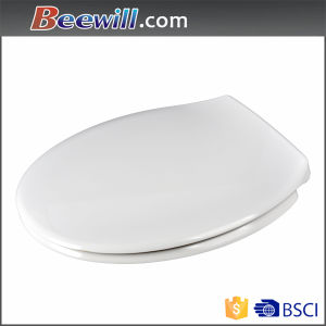 Customized Pattern Round UF Toilet Seat Sanitary Wares with Soft Close pictures & photos