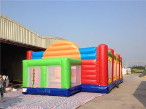 Cheap Inflatable Football Field for Adult and Kids pictures & photos
