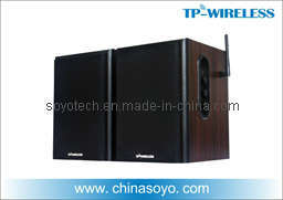 2.4GHz Wireless Home Theater Surround Speakers (WSD01) pictures & photos