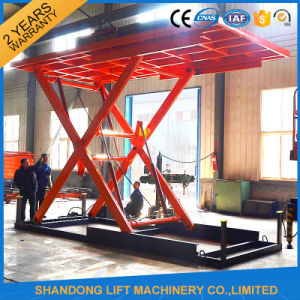 Scissor Type Floor to Floor Hydraulic Vertical Car Lift Table pictures & photos