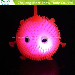 Novelty Multicolor Puffer Yoyo Light up Ball Party Favor Toys pictures & photos