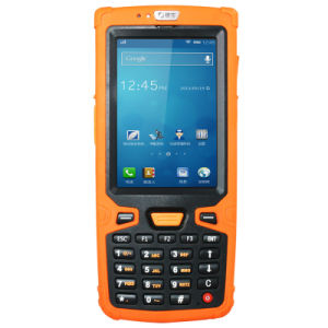 Wholesale Ht380A Rugged NFC RFID Reader Handheld PDA Barcode Scanner Support WiFi 3G GPRS Bluetooth pictures & photos