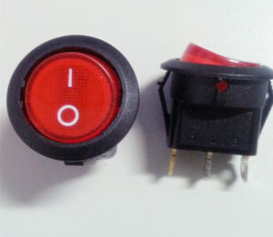 Boat Rocker Switch/Power Switch with CE Push Button pictures & photos