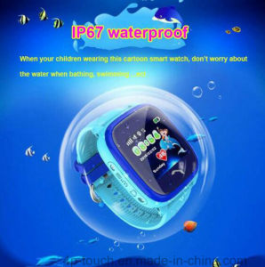 Newest IP67 Waterproof Kids GPS Tracker Watch (D25) pictures & photos