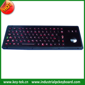 Military Backlight Mechanical Keyboards with Trackball