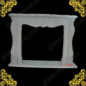 Hot Sale Stone Fireplace Surrounds pictures & photos