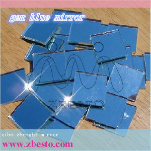 Clear and Colored Bevelled Silver Aluminum Mirror Sheet pictures & photos