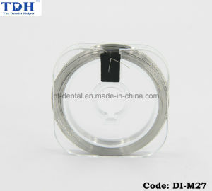 Dental Orthodontic Wire Ligature Roll 0.2 (DI-M27) pictures & photos