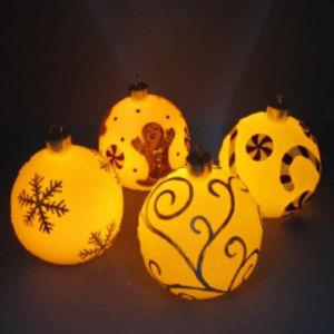Christmas Candle (FLM-X-005)