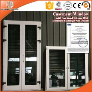 Renovation Solid Oak Wood Casement Window with Exterior Aluminum Cladding pictures & photos