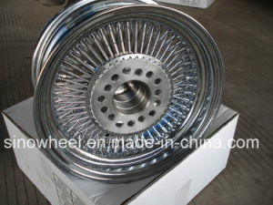14X6 Wire Wheel All Chrome pictures & photos