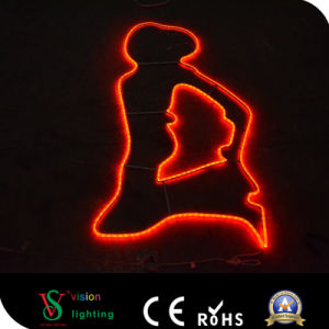 LED 2D Pole Mounted Motif Light pictures & photos