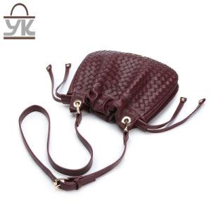 Weave Fashion PU Women Designer Leisure Handbags pictures & photos