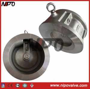 Single-Disc Swing Wafer Check Valve (H74) pictures & photos
