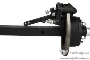 Trailer Axle with Mechanical Brakes pictures & photos