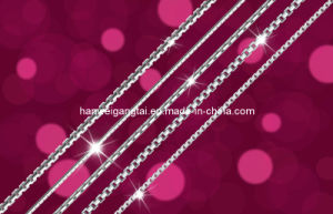 Silver Box Chain,box chain,USD1.5/Gram pictures & photos