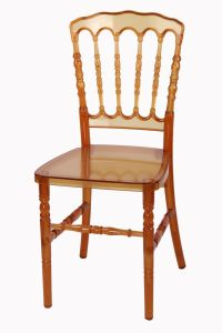 Polycarbonate Amber Wedding Dining Banquet Rental Napoleon Chair pictures & photos