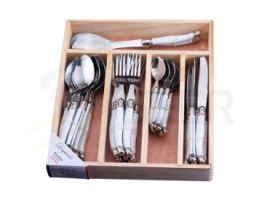 24PCS ABS Handle Laguiole Stainless Steel Flatware Tool (SE-K66) pictures & photos