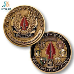 Home Decoration Antique 3D Custom Challenge Coins with Enamel pictures & photos